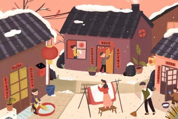 Phong tục Tết khác biệt ở 2 đầu Trung Quốc: Ăn sủi cảo bịt miệng tiểu nhân và đuổi 5 cái nghèo, kiêng quét nhà vào ngày sinh nhật cái chổi - Ảnh 1.