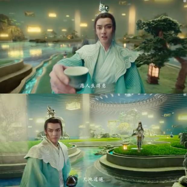 Tống Thiến bị chê dừ, Ngô Diệc Phàm mặc đồ như cọng hành ở trailer phim quảng bá game Vương Giả Vinh Diệu - Ảnh 5.