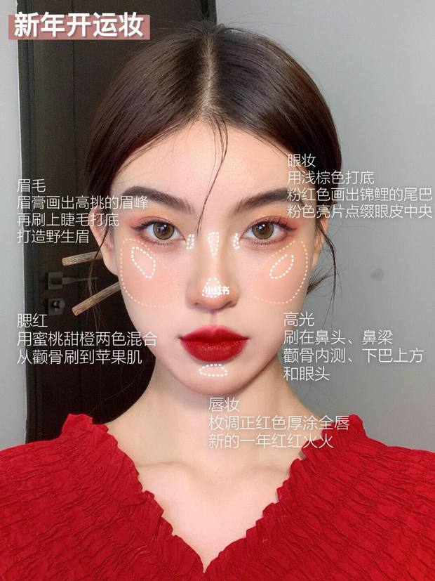 """Tường tận 5 bước makeup hóa nữ thần mùa xuân, nàng """"tay mơ"""" cũng học theo được dễ dàng để thật xinh đón Tết - Ảnh 8."""