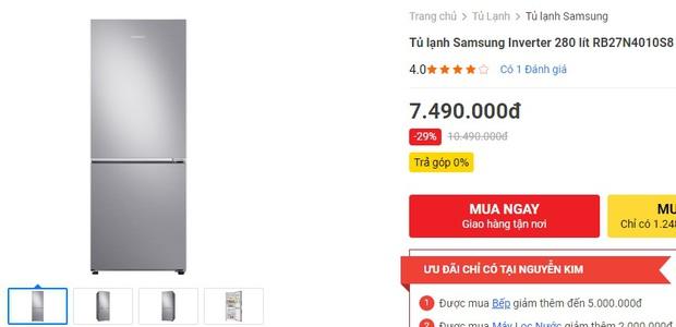 Từ 5,9 triệu sắm tủ lạnh cỡ vừa nhưng trữ đồ đáng nể cho Tết này - Ảnh 3.