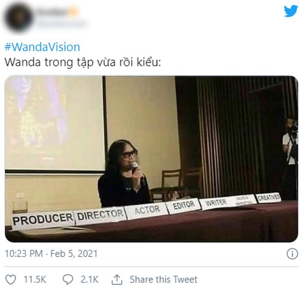 WandaVision tập 5 nóng hừng hực làm netizen dậy sóng, chế ảnh lia lịa về tình người duyên ma nhà Marvel vừa hài vừa rợn - Ảnh 5.
