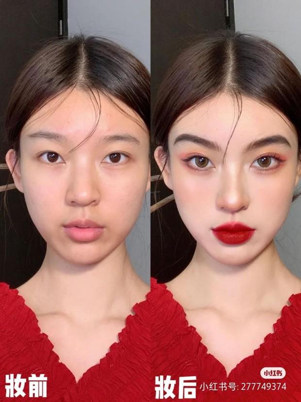 """Tường tận 5 bước makeup hóa nữ thần mùa xuân, nàng """"tay mơ"""" cũng học theo được dễ dàng để thật xinh đón Tết - Ảnh 9."""