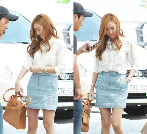 Tìm cả Kbiz, đố ai qua được thời trang sân bay của Jessica: Gần chục năm nhìn lại vẫn trendy như mới hôm qua - Ảnh 6.