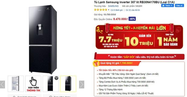 Từ 5,9 triệu sắm tủ lạnh cỡ vừa nhưng trữ đồ đáng nể cho Tết này - Ảnh 5.