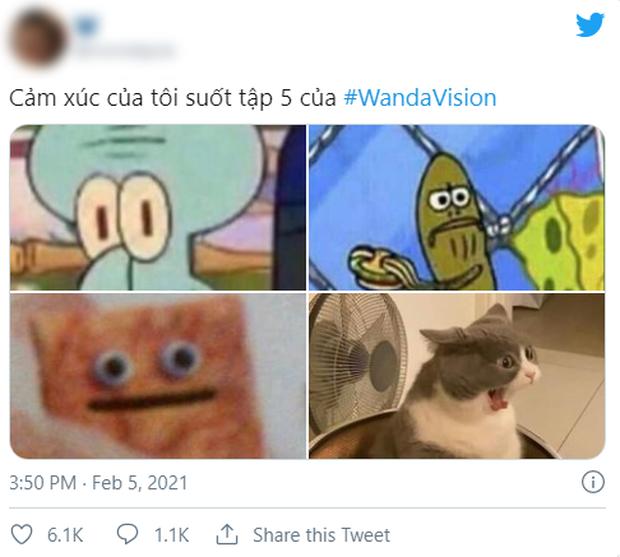 WandaVision tập 5 nóng hừng hực làm netizen dậy sóng, chế ảnh lia lịa về tình người duyên ma nhà Marvel vừa hài vừa rợn - Ảnh 6.