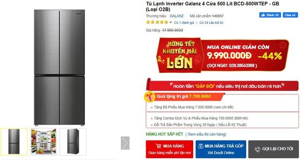 Từ 5,9 triệu sắm tủ lạnh cỡ vừa nhưng trữ đồ đáng nể cho Tết này - Ảnh 7.
