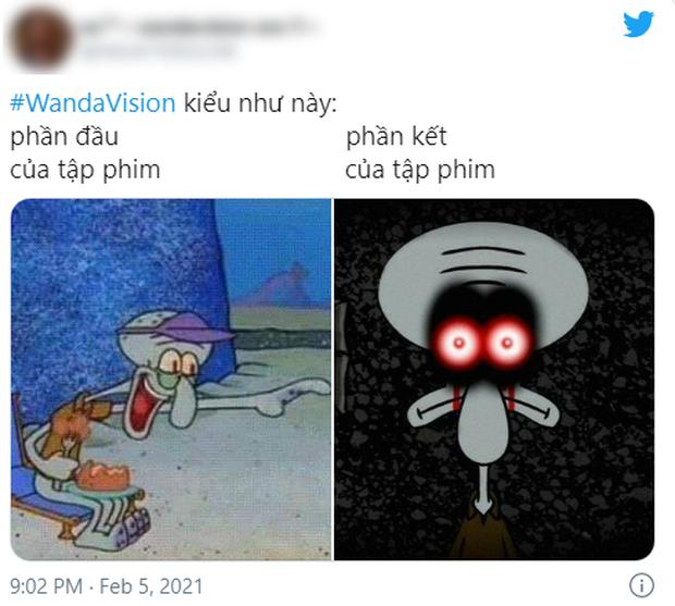 WandaVision tập 5 nóng hừng hực làm netizen dậy sóng, chế ảnh lia lịa về tình người duyên ma nhà Marvel vừa hài vừa rợn - Ảnh 8.