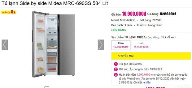 Từ 5,9 triệu sắm tủ lạnh cỡ vừa nhưng trữ đồ đáng nể cho Tết này - Ảnh 11.
