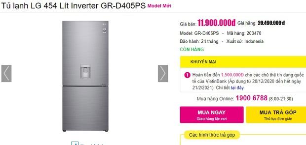 Từ 5,9 triệu sắm tủ lạnh cỡ vừa nhưng trữ đồ đáng nể cho Tết này - Ảnh 13.