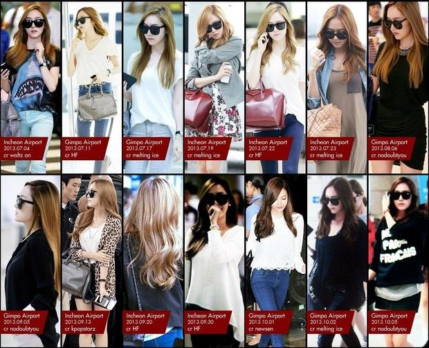 Tìm cả Kbiz, đố ai qua được thời trang sân bay của Jessica: Gần chục năm nhìn lại vẫn trendy như mới hôm qua - Ảnh 10.