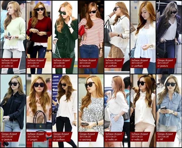 Tìm cả Kbiz, đố ai qua được thời trang sân bay của Jessica: Gần chục năm nhìn lại vẫn trendy như mới hôm qua - Ảnh 9.