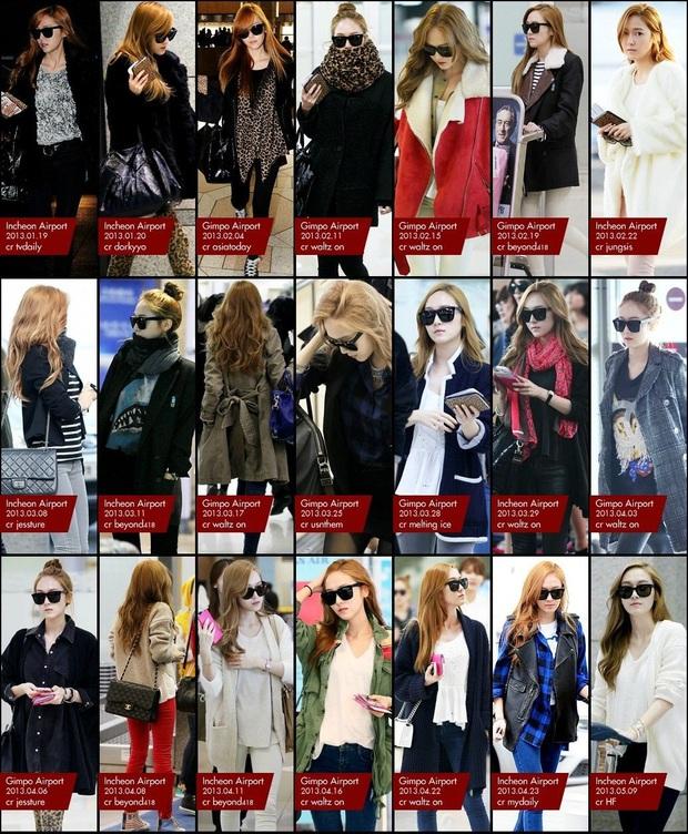 Tìm cả Kbiz, đố ai qua được thời trang sân bay của Jessica: Gần chục năm nhìn lại vẫn trendy như mới hôm qua - Ảnh 8.