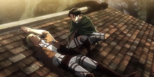 9 màn hi sinh xé lòng ở anime Attack on Titan: Mẹ nam chính bị vợ cũ của chồng nuốt chửng, thành viên cộm cán bị bắn chết vô lý! - Ảnh 11.