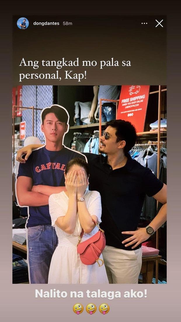 Phản ứng hài hước của chồng mỹ nhân đẹp nhất Philippines khi vợ si mê Hyun Bin - Ảnh 2.