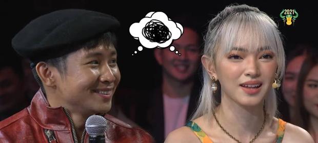 Châu Bùi ngượng ngùng khi bất ngờ bị Ricky Star gọi là... chị dâu - Ảnh 3.