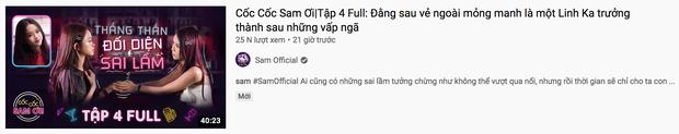 Giữa scandal đạo nhái, Sam vẫn lên sóng tập talkshow mới và còn khuyên Linh Ka thẳng thắn đối diện sai lầm? - Ảnh 1.