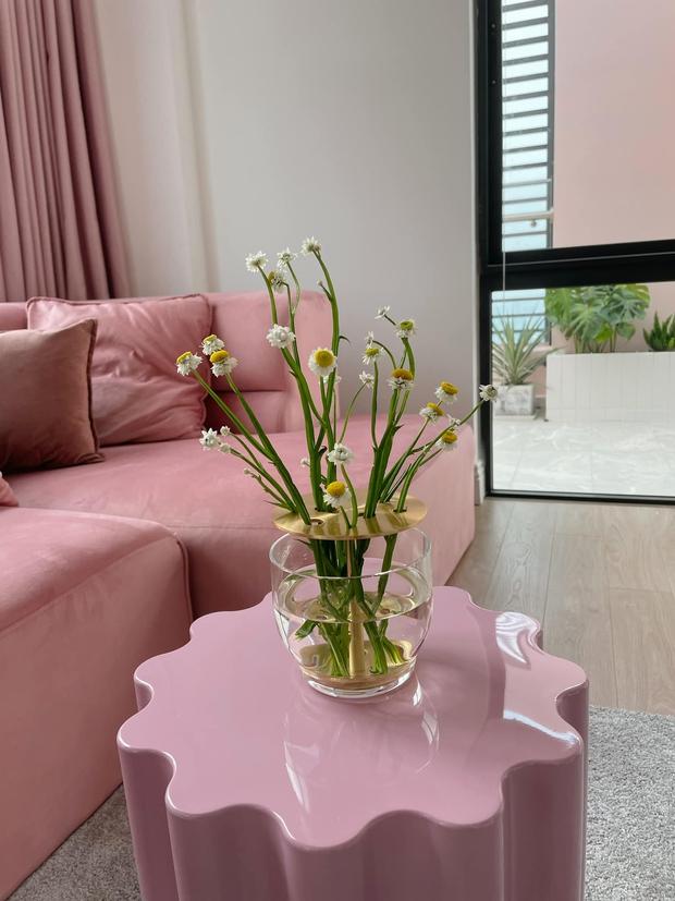 Fan mê mẩn 2 chiếc bàn trà trong penthouse 7 tỷ của Quỳnh Anh Shyn, hỏi ngay chỗ mua - Ảnh 3.