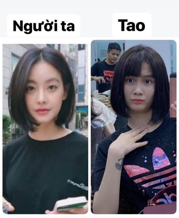 Thanh Trần mượn mẫu idol Hàn mần tóc đón Tết, anh thợ làm một hồi lại ra thành gái Nhật đó! - Ảnh 1.