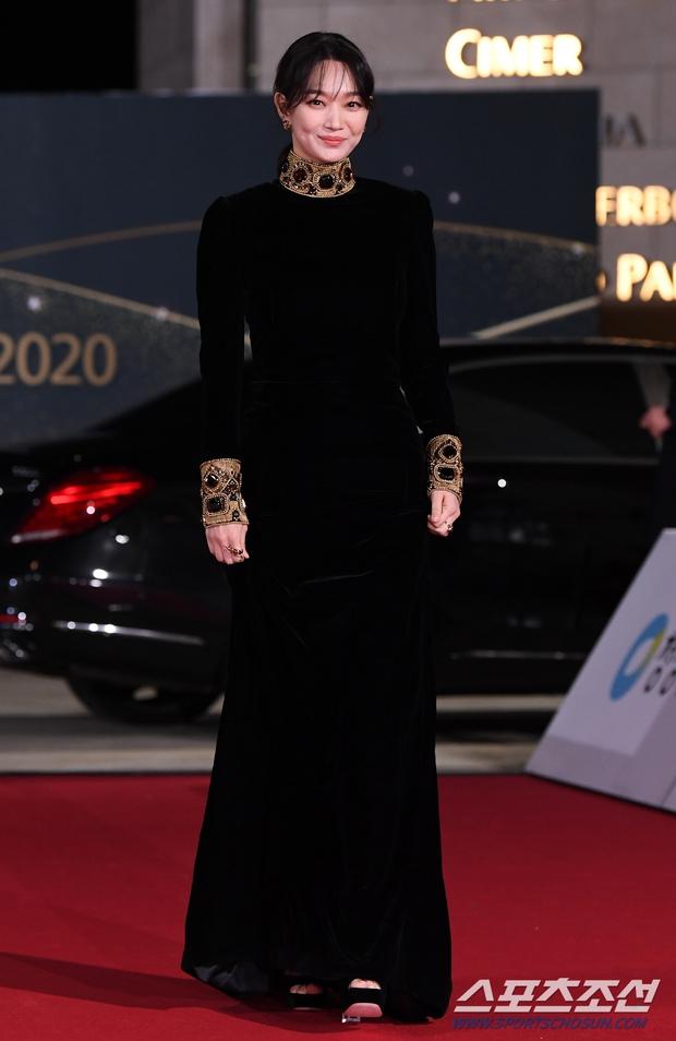 Siêu thảm đỏ Rồng Xanh 2020: Shin Min Ah lộ mặt nhăn nheo gây sốc, chị đại Kim Hye Soo đại náo bên Lee Byung Hun - Jung Woo Sung - Ảnh 5.