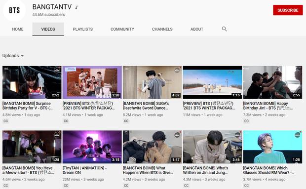 10 kênh YouTube của ca sĩ Kpop có nhiều lượt đăng ký nhất: BLACKPINK đứng đầu nhưng BTS mới làm Knet choáng váng - Ảnh 7.
