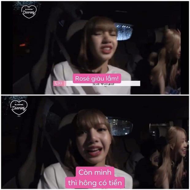 """Đằng sau vẻ giàu có của BLACKPINK: Jisoo muốn làm """"ăn xin"""", Jennie toàn ăn đồ hết hạn, câu cửa miệng của Lisa khác hẳn thực tế? - Ảnh 4."""