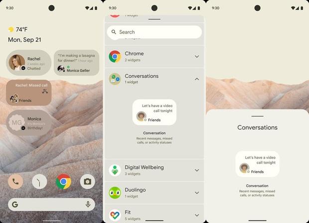 Đây là Android 12 với giao diện hoàn toàn mới, nhiều tính năng bắt chước iOS - Ảnh 2.