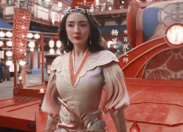 Đụng độ nhan sắc với Thảm hoạ Kim Ưng, Dương Mịch bỗng lộ visual xuống dốc với loạt khuyết điểm - Ảnh 3.