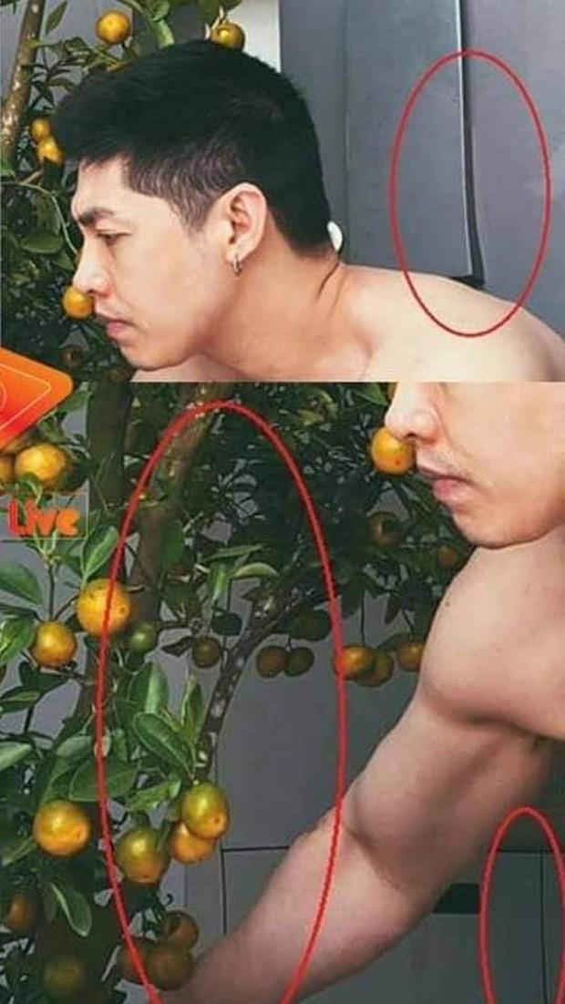 Sao nam Vbiz bị bóc mẽ nghiện photoshop: Noo Phước Thịnh chỉnh méo cả cửa, Việt Anh trông nữ tính thấy lạ - Ảnh 2.