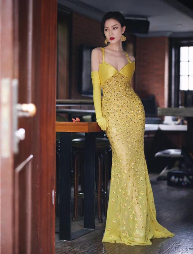 Soi váy áo sao nữ Đêm Hội Weibo: Nhiệt Ba chặt chém ác liệt, Châu Đông Vũ - Tống Thiến mặc gì thế này? - Ảnh 7.