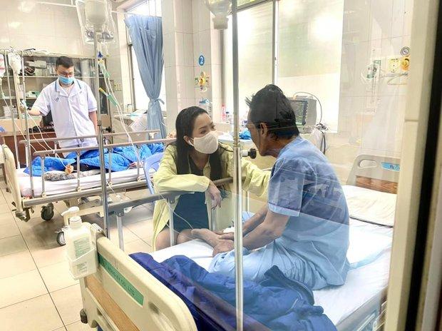 NS Trịnh Kim Chi công bố kêu gọi hơn 270 triệu đồng để giúp đỡ NS Thương Tín, con gái đã đến thăm bố ở bệnh viện - Ảnh 4.