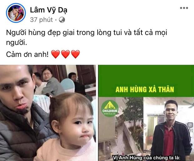 """Hoà Minzy và dàn sao Việt dậy sóng trước vụ """"người hùng"""" cứu bé gái rơi từ tầng 12, Tuấn Hưng nhân đây dặn dò luôn bà xã - Ảnh 6."""