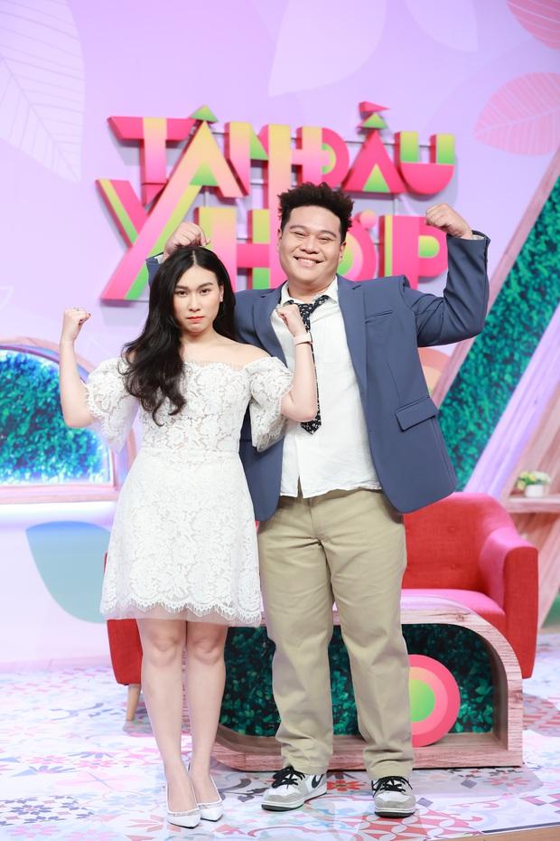 Rapper mũm mĩm Yuno Bigboi khoe vợ huấn luyện viên thể hình trên show thực tế - Ảnh 1.