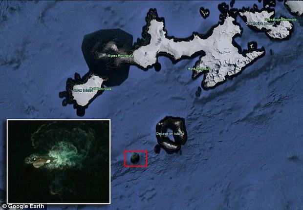Những thuỷ quái khổng lồ vô tình được Google Earth ghi lại, nhìn rất khó tin! - Ảnh 1.