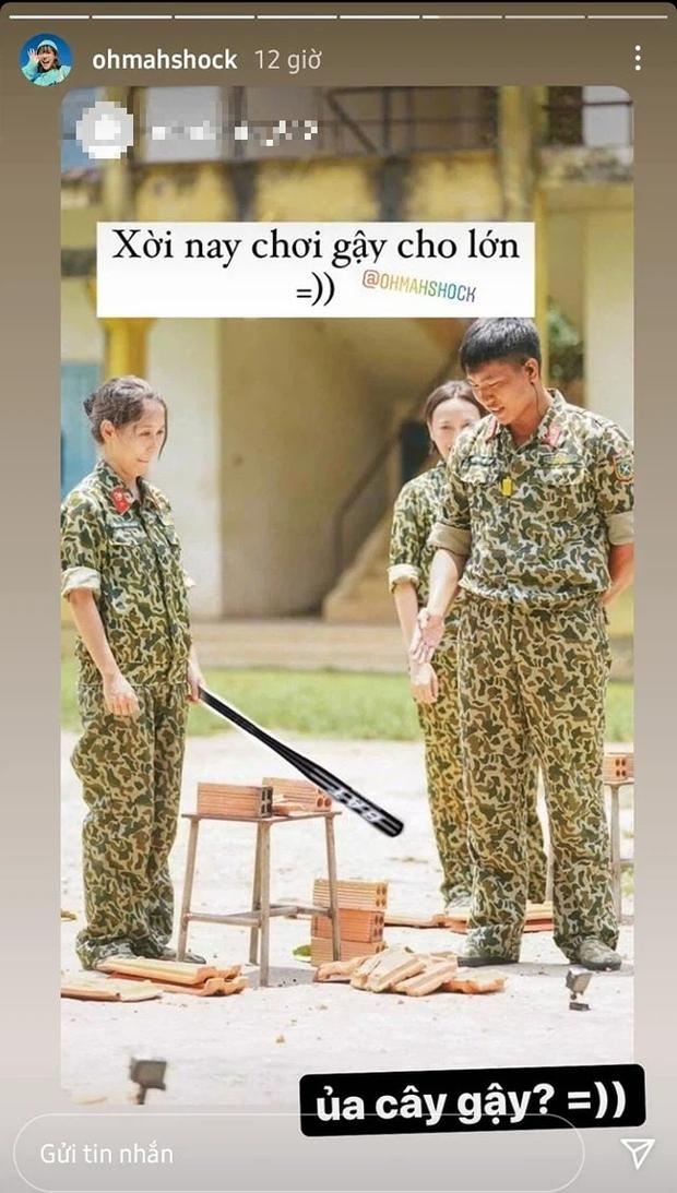 Hậu Hoàng hả hê khi được netizen chế ảnh trả đũa Mũi trưởng Long về vụ chặt ngói - Ảnh 4.