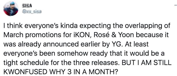iKON chưa kịp comeback YG đã vội tung teaser của Rosé: Người chỉ trích, kẻ lại háo hức mong chờ tương tác sân khấu - Ảnh 8.