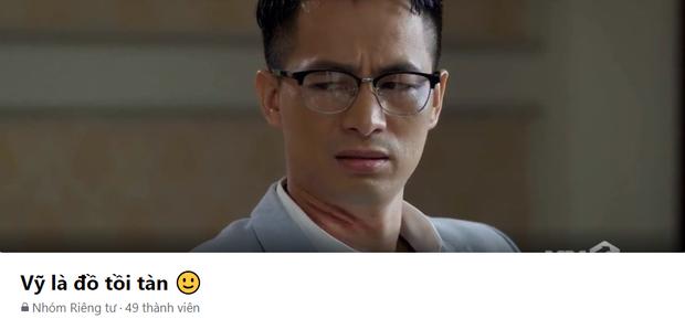 Cưỡng hiếp cô Châu (Hướng Dương Ngược Nắng), Vỹ trở thành nhân vật đầu tiên phim Việt có riêng 1 group anti! - Ảnh 2.