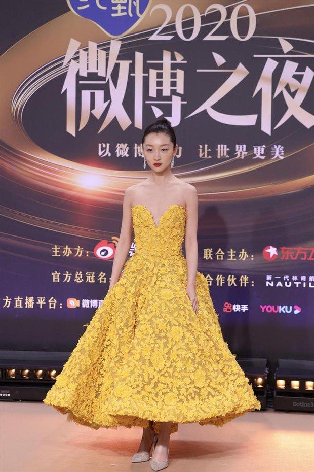 Soi váy áo sao nữ Đêm Hội Weibo: Nhiệt Ba chặt chém ác liệt, Châu Đông Vũ - Tống Thiến mặc gì thế này? - Ảnh 8.