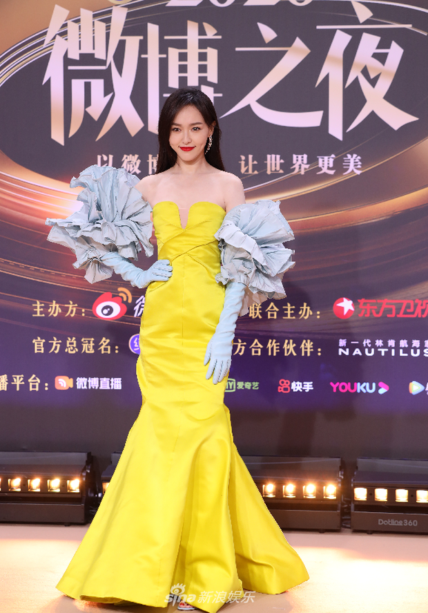 Soi váy áo sao nữ Đêm Hội Weibo: Nhiệt Ba chặt chém ác liệt, Châu Đông Vũ - Tống Thiến mặc gì thế này? - Ảnh 11.