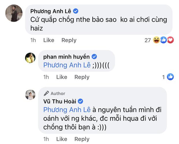 Đăng ảnh tình tứ với chồng CEO, MC Thu Hoài bị hội bạn xúm vào nói xấu thẳng mặt - Ảnh 2.
