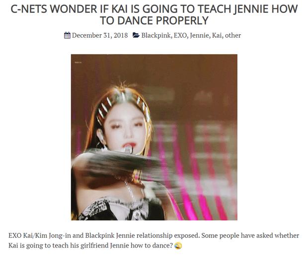Jennie cứ yêu đương là dính phốt biểu diễn hời hợt: Netizen mỉa mai để Kai (EXO) dạy vũ đạo, bị soi nhảy sai ngay sau tin hẹn hò GD - Ảnh 7.