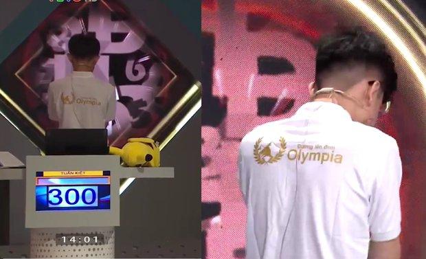 Về nhì tuần nhưng nam sinh khiến cả Quán quân và top 4 Olympia 2020 phải bàn tán vì biểu cảm người giống người này - Ảnh 3.