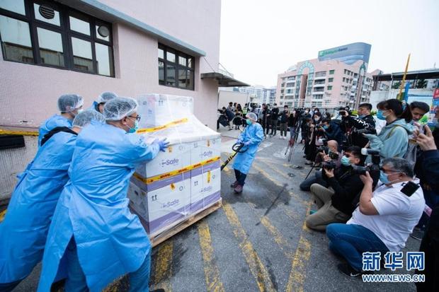 Khoảng 167.000 người đăng ký tiêm vaccine Covid-19 tại Hong Kong và Macao (Trung Quốc) - Ảnh 1.
