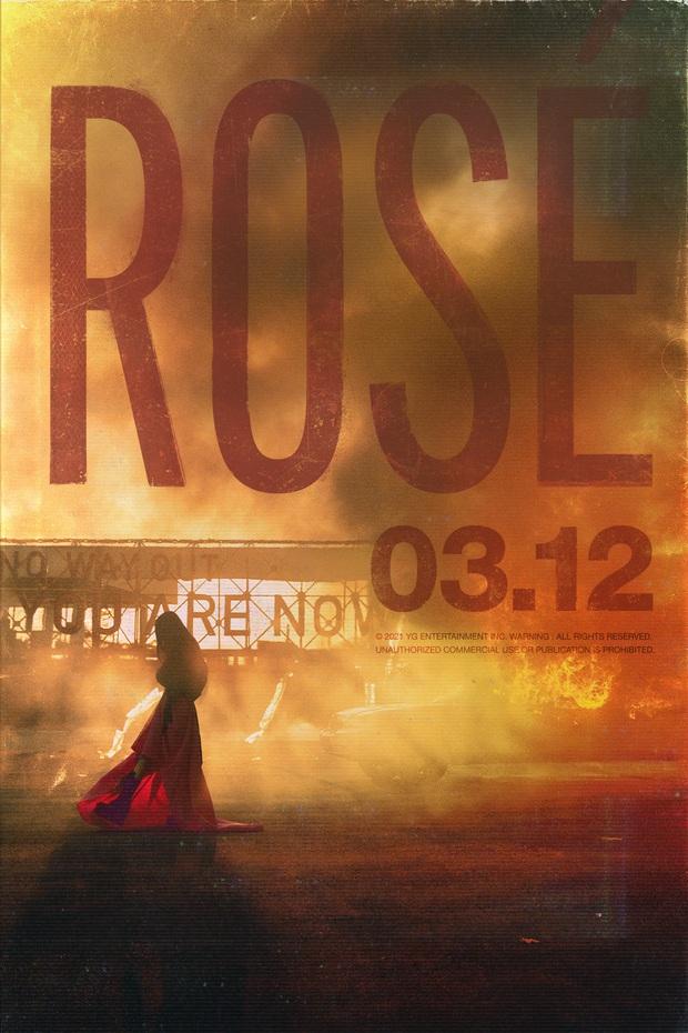 HOT: Rosé (BLACKPINK) chính thức ấn định ngày ra mắt solo, đăng 2 tấm poster xinh như mộng! - Ảnh 2.