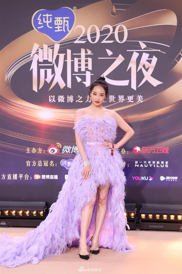 Soi váy áo sao nữ Đêm Hội Weibo: Nhiệt Ba chặt chém ác liệt, Châu Đông Vũ - Tống Thiến mặc gì thế này? - Ảnh 6.