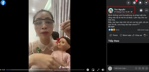 Thơ Nguyễn đăng full clip vụ xin búp bê vía học giỏi, netizen phát hiện những tình tiết cố lấp liếm scandal - Ảnh 3.