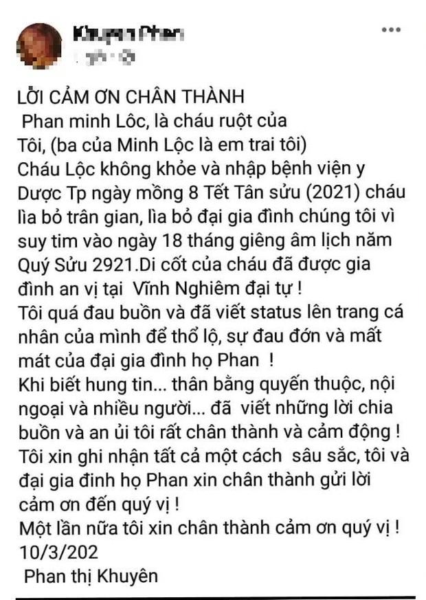 """Nguyên nhân """"phù thuỷ"""" trang điểm cho loạt sao nổi tiếng - Minh Lộc qua đời - Ảnh 2."""