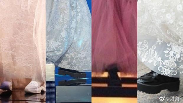 Netizen tranh cãi chuyện Dương Tử chuyên diện đầm dạ hội mà đi giày hầm hố: Không tôn trọng khán giả sao? - Ảnh 3.