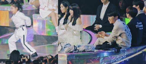 Hot trở lại khoảnh khắc j-hope (BTS) ngắm ca sĩ nhí biểu diễn, nở nụ cười người cha khiến hội chị em rung rinh - Ảnh 2.