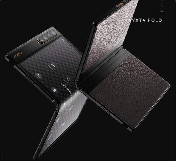 Vertu ra mắt điện thoại thông minh màn hình gập Ayxta Fold, nhìn mà xót hết cả ví - Ảnh 4.
