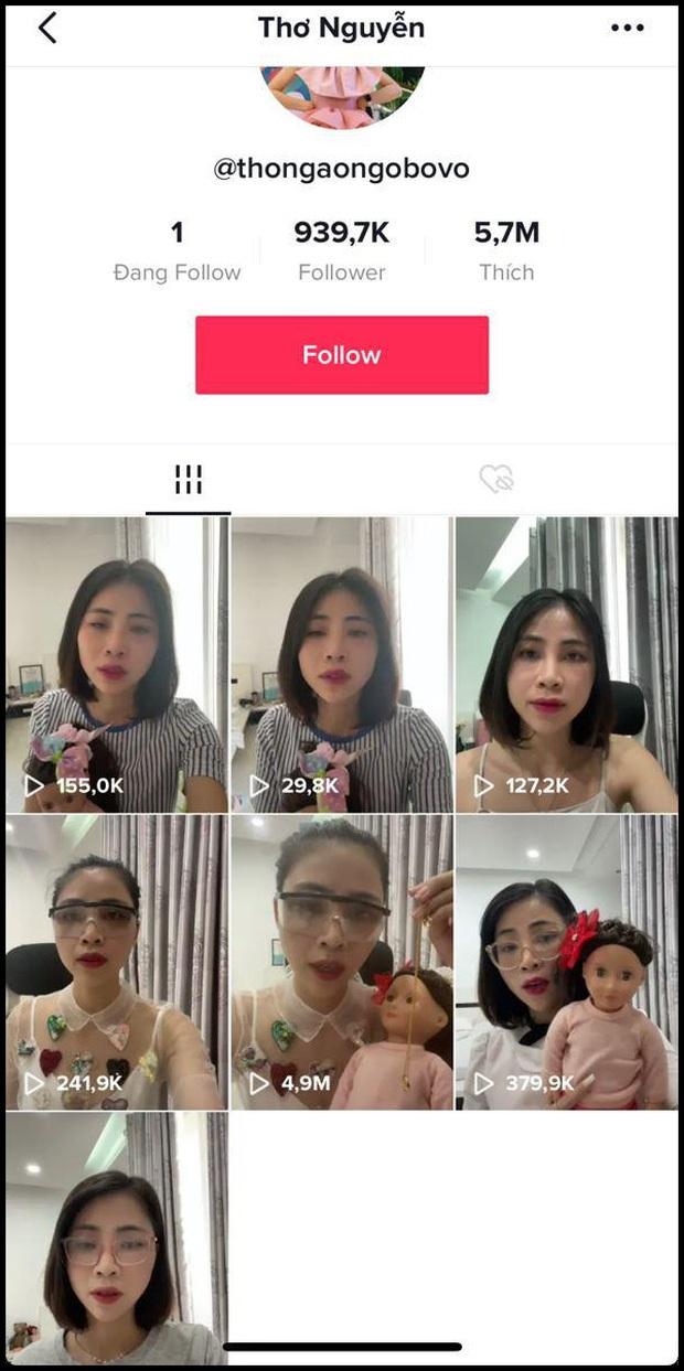 Thơ Nguyễn xỉu up, xỉu down nhưng bất ngờ trở lại hoạt động cực mạnh trên TikTok, có thêm hơn 5.000 follower mới - Ảnh 3.